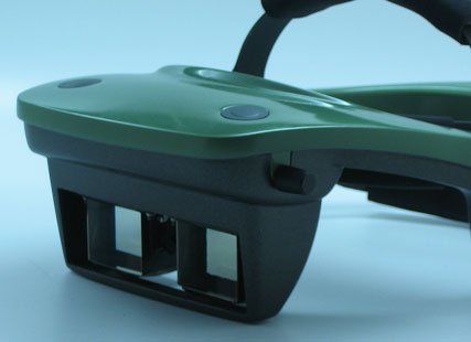 50 Degree See-Through Head Mounted Display